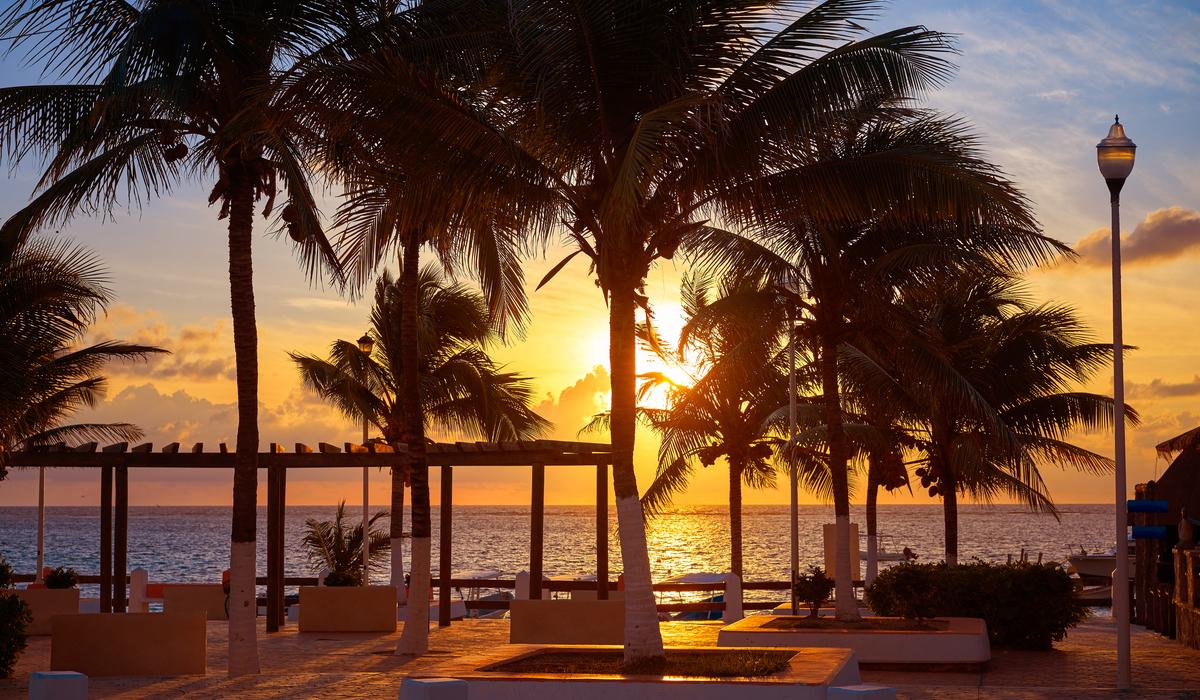 Puerto Morelos Sunset