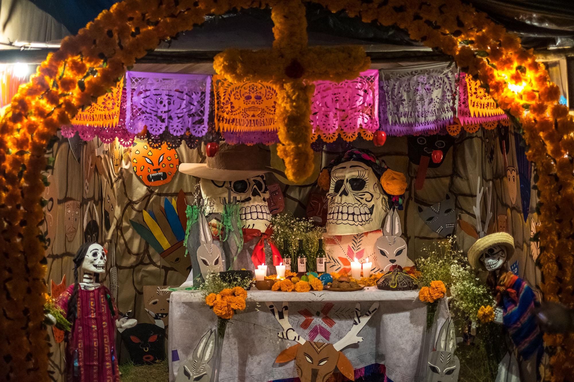 Dia de los Muertos, Riviera Maya