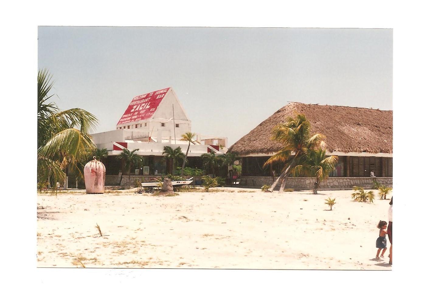 Akumal Dive Shop 1990