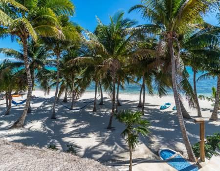 Tankah Beach from Casa Rosa