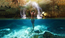 beachfront vacation rental, aventuras akumal, riviera maya, sargasso-free
