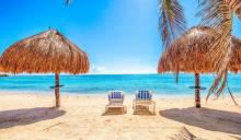 beachfront vacation rental, studio, locogringo, akumal, riviera maya