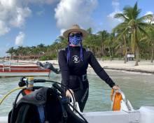 SCUBA diving akumal