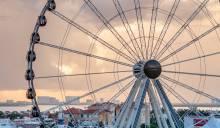 Ferris wheel Cancun