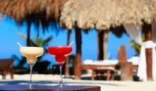 Margaritas on beach