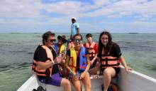 Sian Kaan boat tour