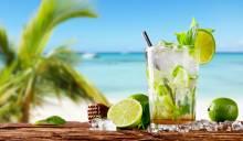 Mojito on beach