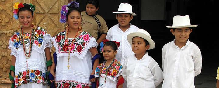 Traditional Maya Clothing